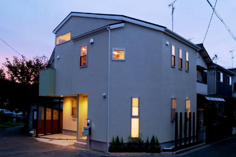 川西市の新築注文住宅です
