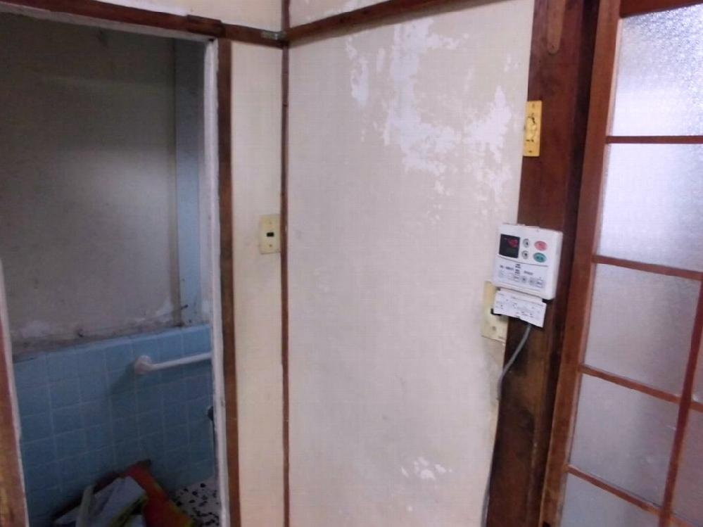 浴室入口 before