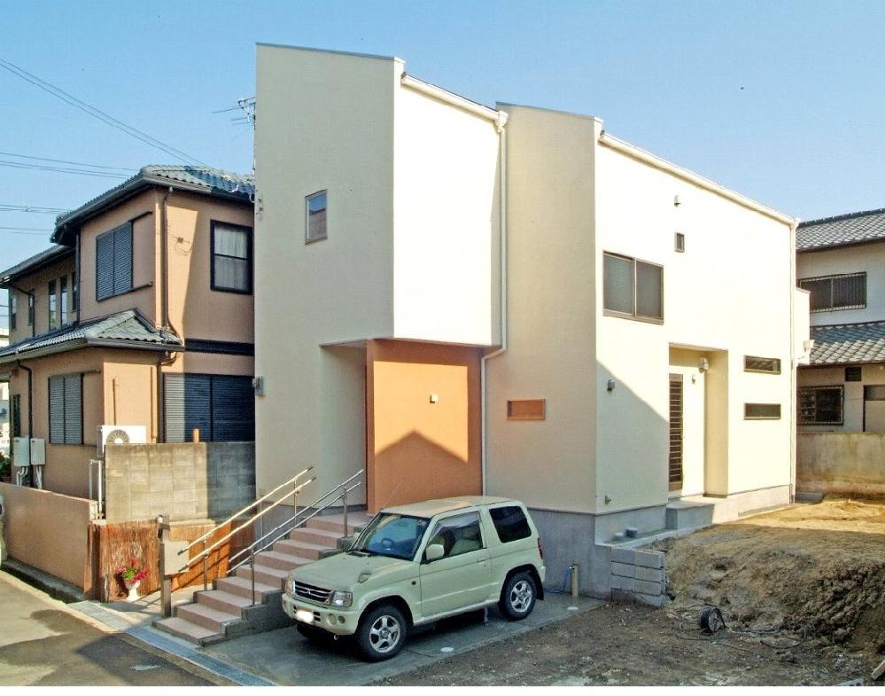 茨木市の新築注文住宅です。