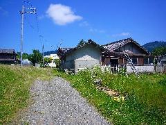 【土地】 能勢町野間稲地の農家住宅 成約済