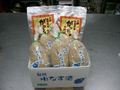 泉州名物セット【家庭用】(水なす漬5個、がっちょ2袋)