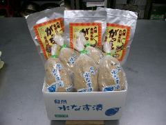 泉州名物セット【家庭用】(水なす漬5個、がっちょ3袋)
