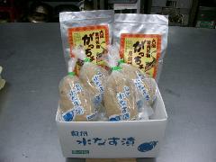 泉州名物セット【家庭用】(水なす漬4個、がっちょ2袋)