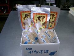 泉州名物セット【贈答用】(水なす漬4個、がっちょ3袋)