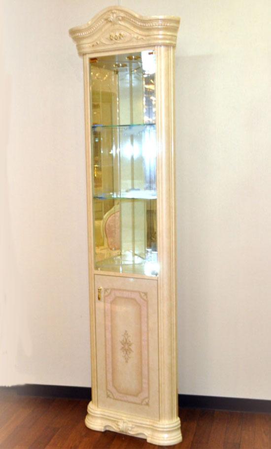 イタリア/サルタレッリ社製コーナー飾り棚A14 ガラスキャビネット A14/I