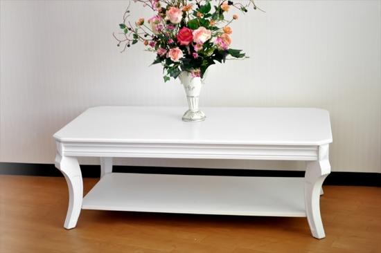 リビングテーブル ホワイト795/I  さらに20%OFF の価格