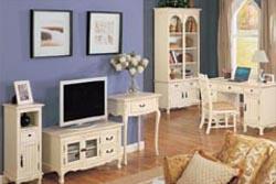 カントリー家具のホワイトシリーズ