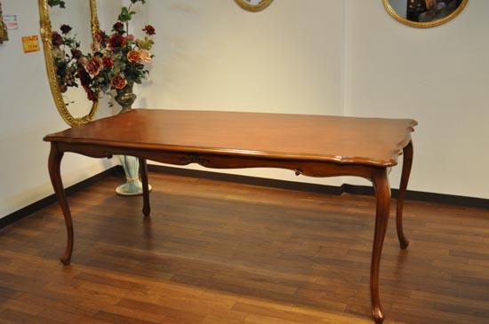 輸入家具 ダイニングテーブル 猫足 ヨーロピアンスタイル アウトレット180