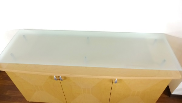 強化ガラス スリガラス板 長方形ロング
