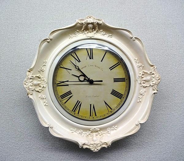 アンティーク 時計 ホワイト 073