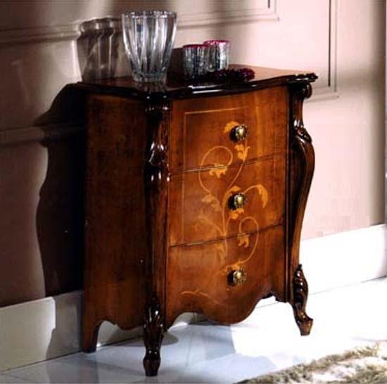 展示現品売り尽くしセール イタリア家具 猫脚 3段チェスト 5406
