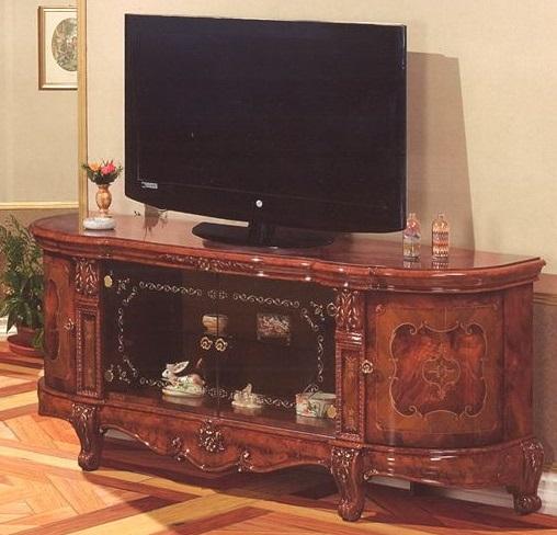 イタリア/サルタレッリ社製ヴェルサイユシリーズ ロココ調のテレビボード 912CS-VS62/W