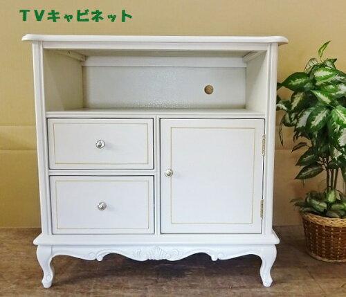 処分特価  白家具のテレビ台 TVキャビネット 162W
