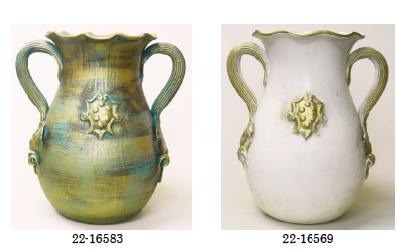 陶器の傘立て 22-16583. 22-16569