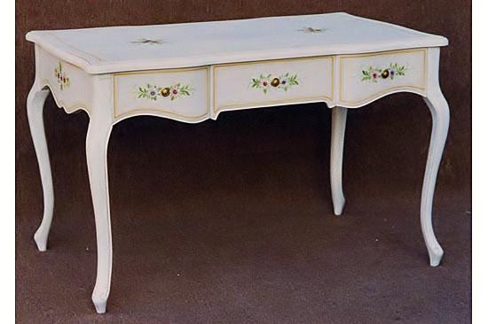【展示現品売り尽くし】輸入家具 白いデスク(机)101