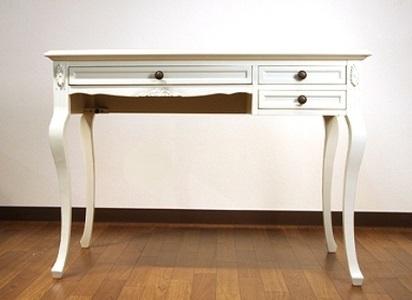 白い家具 パソコン台 826