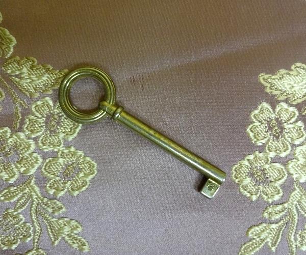 スペアーキー 鍵 イタリア製 アンティークキー C