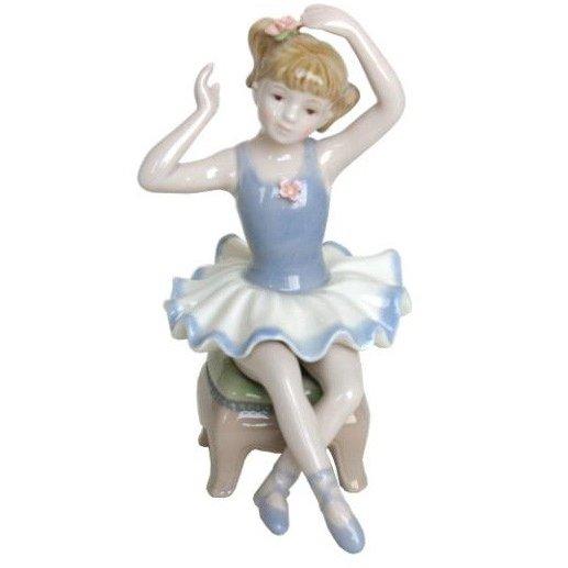 陶器 リアドロ風 置物 女の子 花かごと少女  プレゼント 贈り物 お祝い 贈答品用 アンティーク リアドロ風 81848