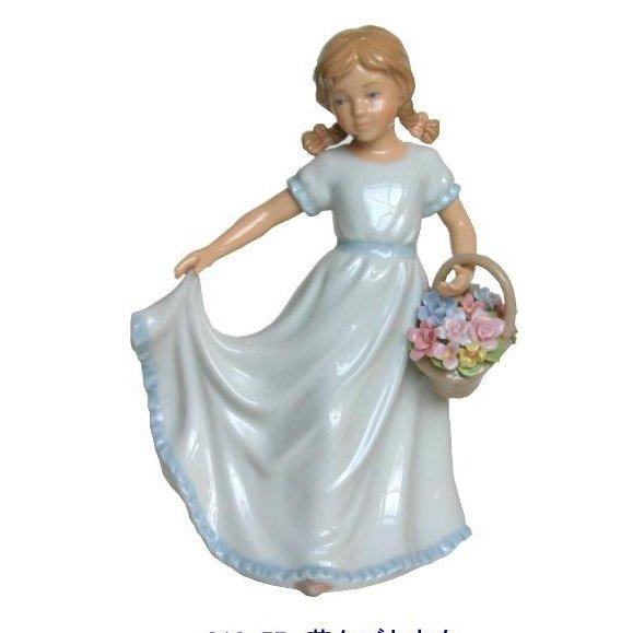 リアドロ風陶器の置物 プレゼント 贈り物 81857