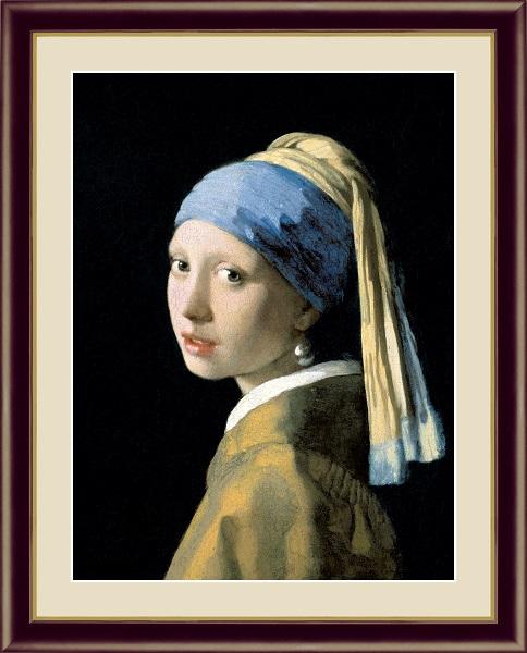 真珠の耳飾りの少女 ヨハネス・フェルメール G4-BM001
