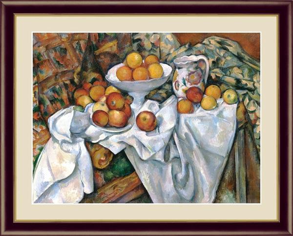 林檎とオレンジ 世界の名画 セザンヌ  G4-BM062