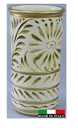 イタリア製 陶器の傘立て 9669T