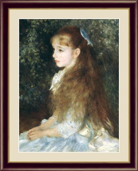 イレーヌ・カーン・ダンヴェール嬢 世界の名画 ルノワール  G4-BM030