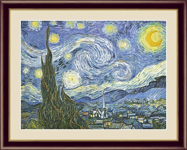 星月夜 世界の名画 ゴッホ  G4-BM053