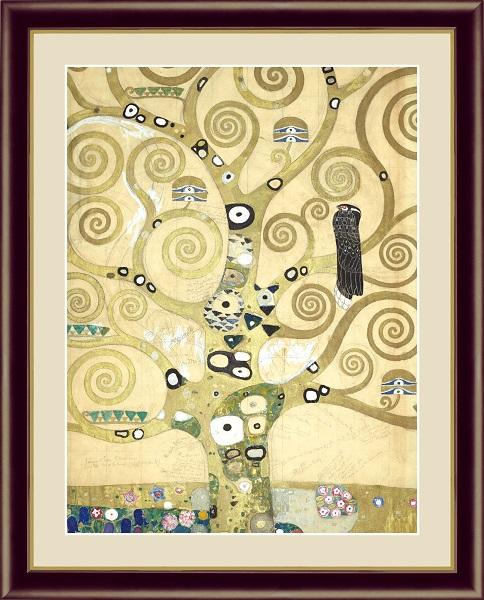 生命の樹 世界の名画 クリムト  G4-BM073
