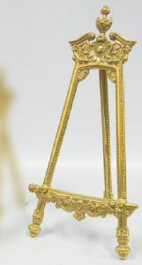 真鍮 イーゼル 大 C3-1237