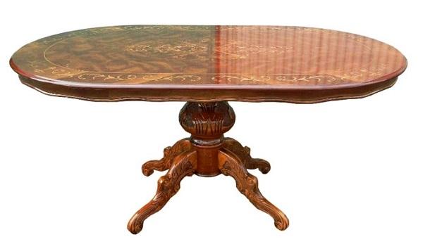 イタリア家具 ダイニングテーブル150cm   L8-150SIL