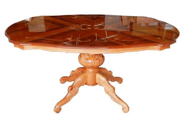 イタリア家具 艶有り ダイニングテーブル  L8-SSNIL
