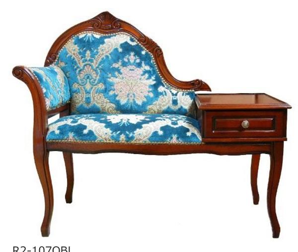 イタリア製 猫足家具 チェア テレホンチェア 107OBL
