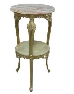 イタリア家具 花台 スモールテーブル L6-904