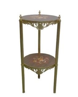 イタリア家具 花台 スモールテーブル L6-913