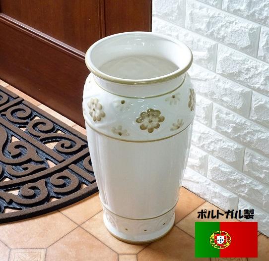 陶器の傘立て  ポルトガル製   8809G