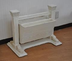 マガジンラック (ホワイト家具)823-BZ-229