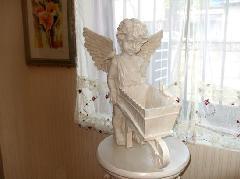 エンゼル 天使のフラワーワゴン