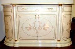 イタリア家具フローレンス サイドボード アイボリー色F24