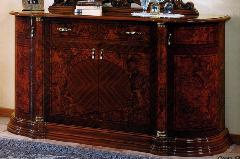 イタリア家具フローレンス サイドボード ブラウン色 912F24/W