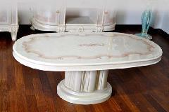 イタリア サルタレッリ、リビングテーブル VN84の1本脚
