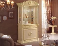 イタリア ロココ調 飾り棚 P103