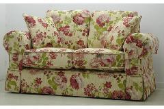 花柄 2人掛けソファー組立式193F5007       通常価格125000円より20%OFF