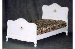 処分特価  輸入ベッド シングルベッド(マット付き)BE-172S
