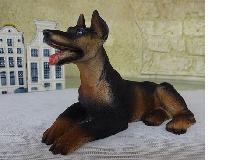 イタリア製犬 ド−ベルマン プチアニマル犬