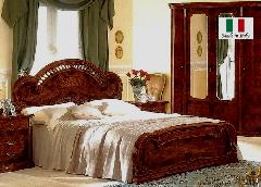 輸入ベッドマット付  ダブルベッド  MILADY