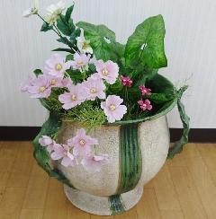 イタリア製の陶器 花器 花瓶 壺 ツボ  326/BT