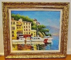 輸入家具 額絵 絵画1018