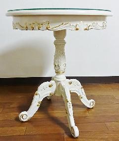 白いテーブル サイドテーブル 155