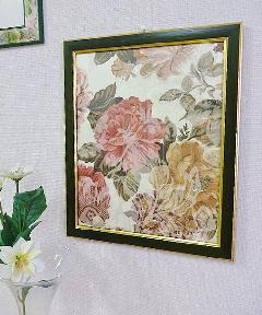 額絵 布絵 花の額絵 BZ-F3
